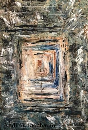 """PTSD"" Andi Schoenbaum 24""x36"" Oil on canvas 2017"