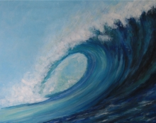 Andi Schoenbaum Western Australia, 2012 Acrylic on Canvas 16″ x 20″
